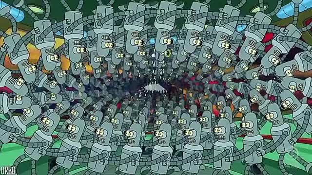 Watch and share Bender Conga GIFs on Gfycat