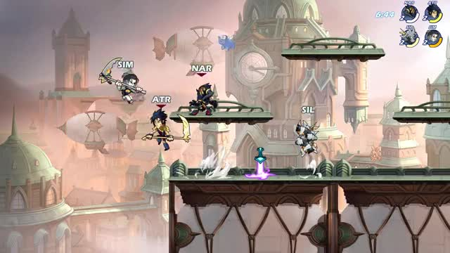 Watch and share Brawlhalla GIFs by Atrophius on Gfycat