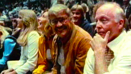 Jerry Buss — Los Angeles Lakers GIFs