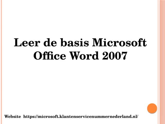 Watch and share Stap Voor Het Gebruik Van Basic Office Office Word 2007 GIFs by Mary Shelly on Gfycat