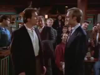 fight, frasier, niles, Frasier - Niles gets into a fight GIFs
