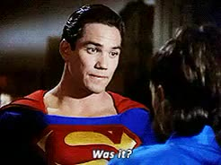 Watch and share Teri Hatcher GIFs and Clark Kent GIFs on Gfycat