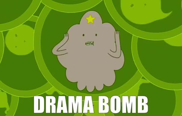 Watch and share Drama Bomb GIFs by Deus GIF Machina on Gfycat