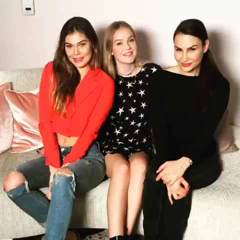 Watch and share Cambrie Schroder, Faith Schroder & Francesca Paige Skin GIFs by deigismon on Gfycat