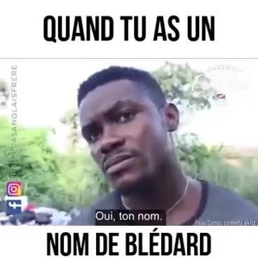 Watch and share Quand Tu A Un Nom De Bledard GIFs on Gfycat