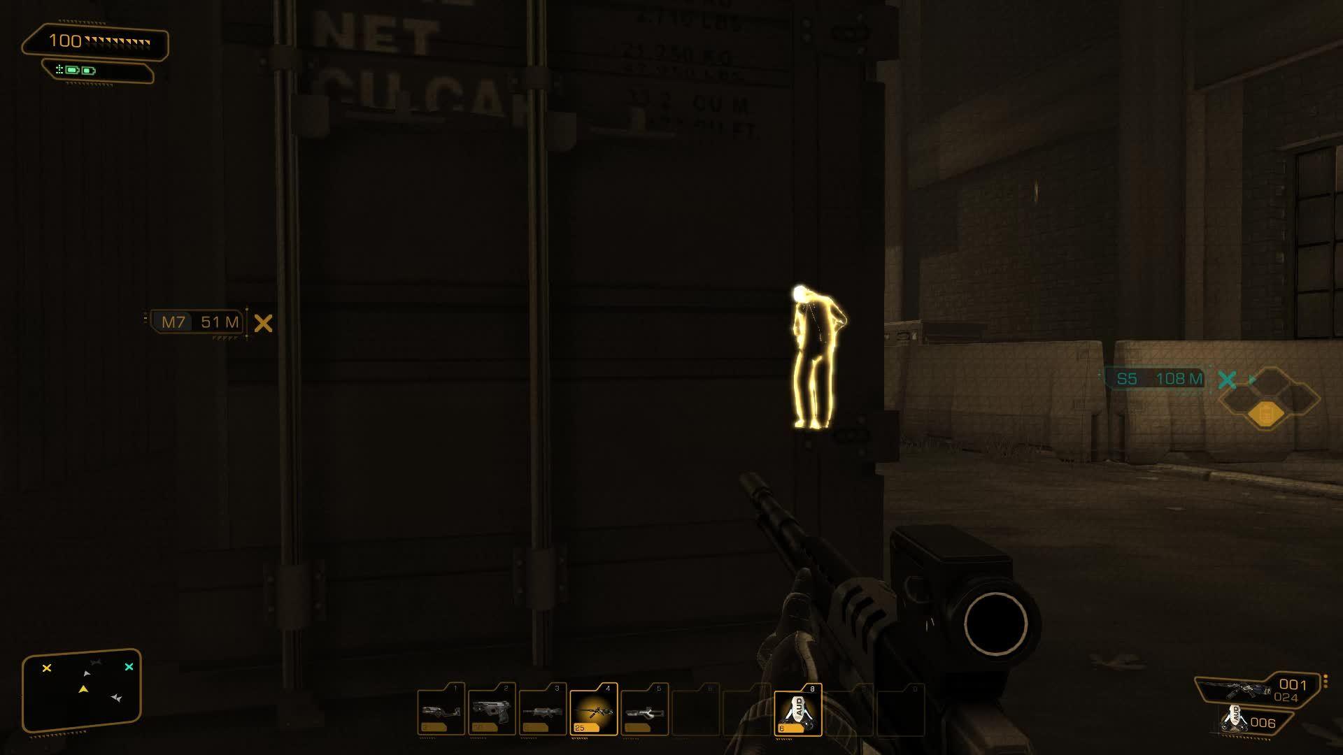 GamePhysics, Deus Ex Human Revolution Tranquilizer Dart GIFs