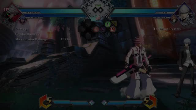 Watch and share BBTag: Strange Ragna Link GIFs by snuffychris605 on Gfycat