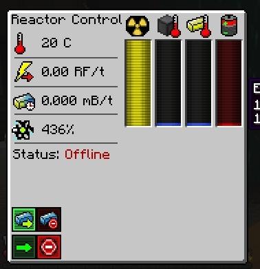 feedthebeast, [Big Reactors] Is it better to keep reactor running or do bursts. (reddit) GIFs