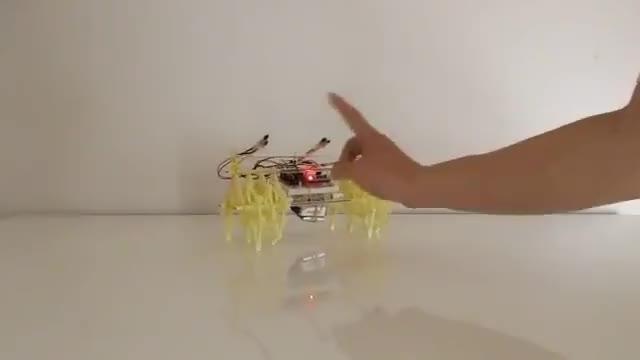 Watch Training Theo Jansen's mini BEEST (ミニビーストの改造と訓練) GIF on Gfycat. Discover more Arduino, IR remote, OLED, SSD1306, Theo Jansen, finger signal, mini BEEST, strandBEEST, ミニビースト, 学研 GIFs on Gfycat