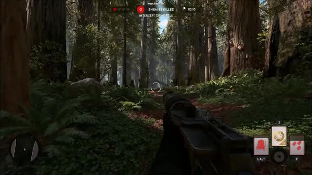 Watch and share I Got Spawned As A Foot Soldier In The Endor Bike Chase. (reddit) GIFs on Gfycat