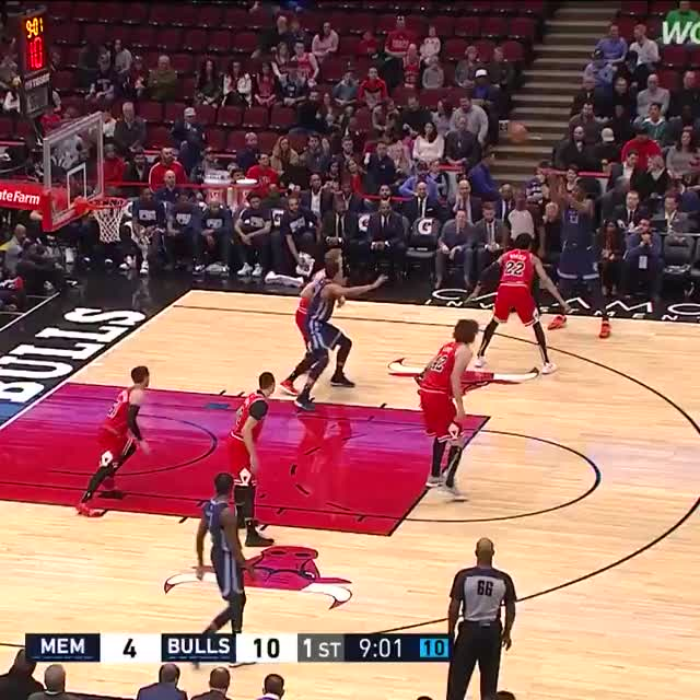 Watch and share Memphis Grizzlies GIFs and Chicago Bulls GIFs on Gfycat