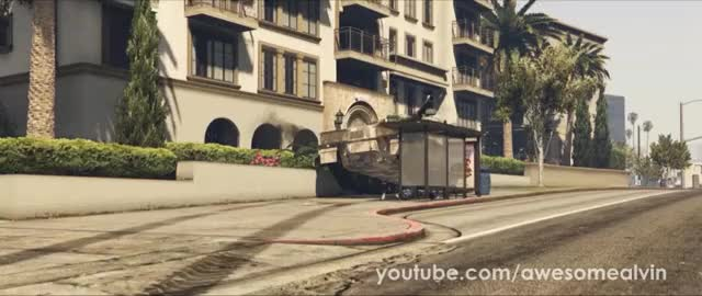 Watch and share Tank Barrel GIFs and Gta5 GIFs by AwesomeAlvin on Gfycat