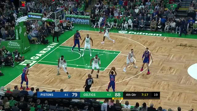Watch bb cut GIF by Mike Snyder (@m_james_snyder) on Gfycat. Discover more Boston Celtics, Detroit Pistons, basketball GIFs on Gfycat
