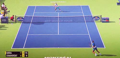 Watch and share Passing Shot GIFs and Rafael Nadal GIFs on Gfycat