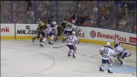 edmontonoilers, hockey, UA - JAMIE CROOKS (Stephane Legault, Brett Ferguson), 13:17 GIFs