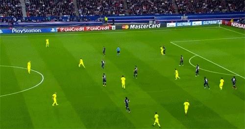 d10s, Goal #1 - PSG GIFs