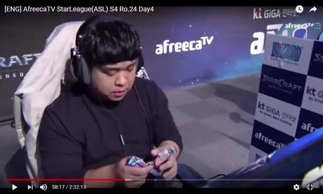 Watch and share [ENG] AfreecaTV StarLeague(ASL) S4 Ro.24 Day4 - YouTube - Google Chrome 19_09_2017 3_23_42 AM GIFs by Jes Thom on Gfycat