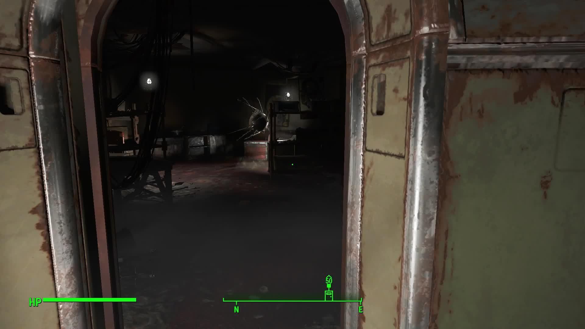 fo4, Mechanist Lair Hidden Room GIFs