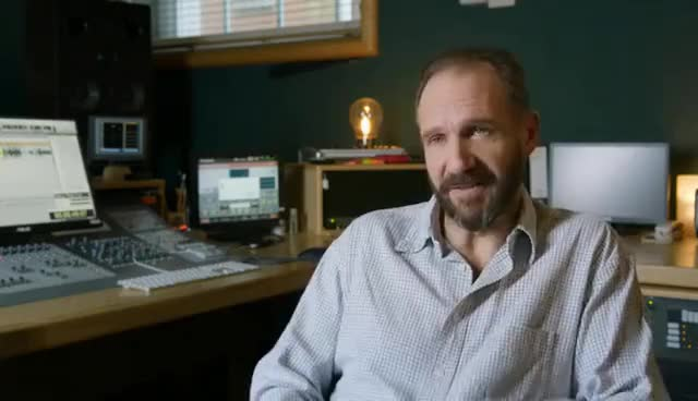 "Watch and share The LEGO Batman Movie: Ralph Fiennes ""Alfred Pennyworth"" Behind The Scenes Interview GIFs on Gfycat"