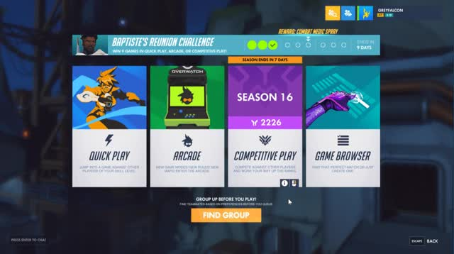 Watch and share Overwatch GIFs by greyfalconow on Gfycat
