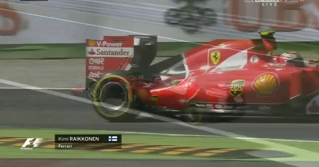 Watch Plastic caught in Kimi's wing (reddit) GIF on Gfycat. Discover more formula1 GIFs on Gfycat