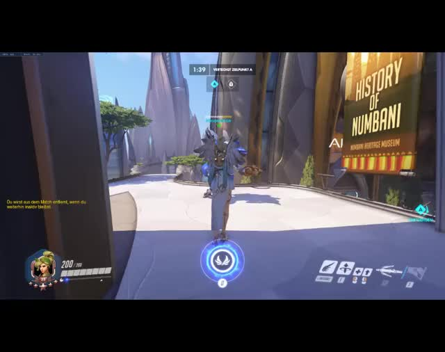 Watch and share Overwatch GIFs and Mercy GIFs by Jojo on Gfycat