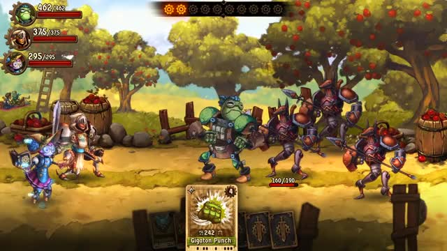 Watch SteamWorld Quest GIF by @rhymeswithasia on Gfycat. Discover more Steamworld, battle, battles, dragons, gold, knights, launch, punch cards, release, trailer GIFs on Gfycat