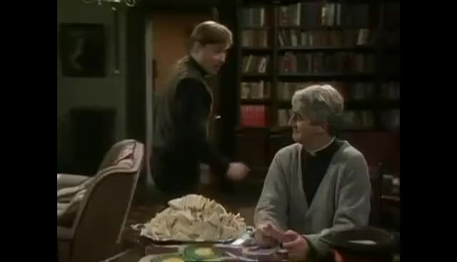 Watch and share Father Ted - Dougal Misses Door GIFs on Gfycat