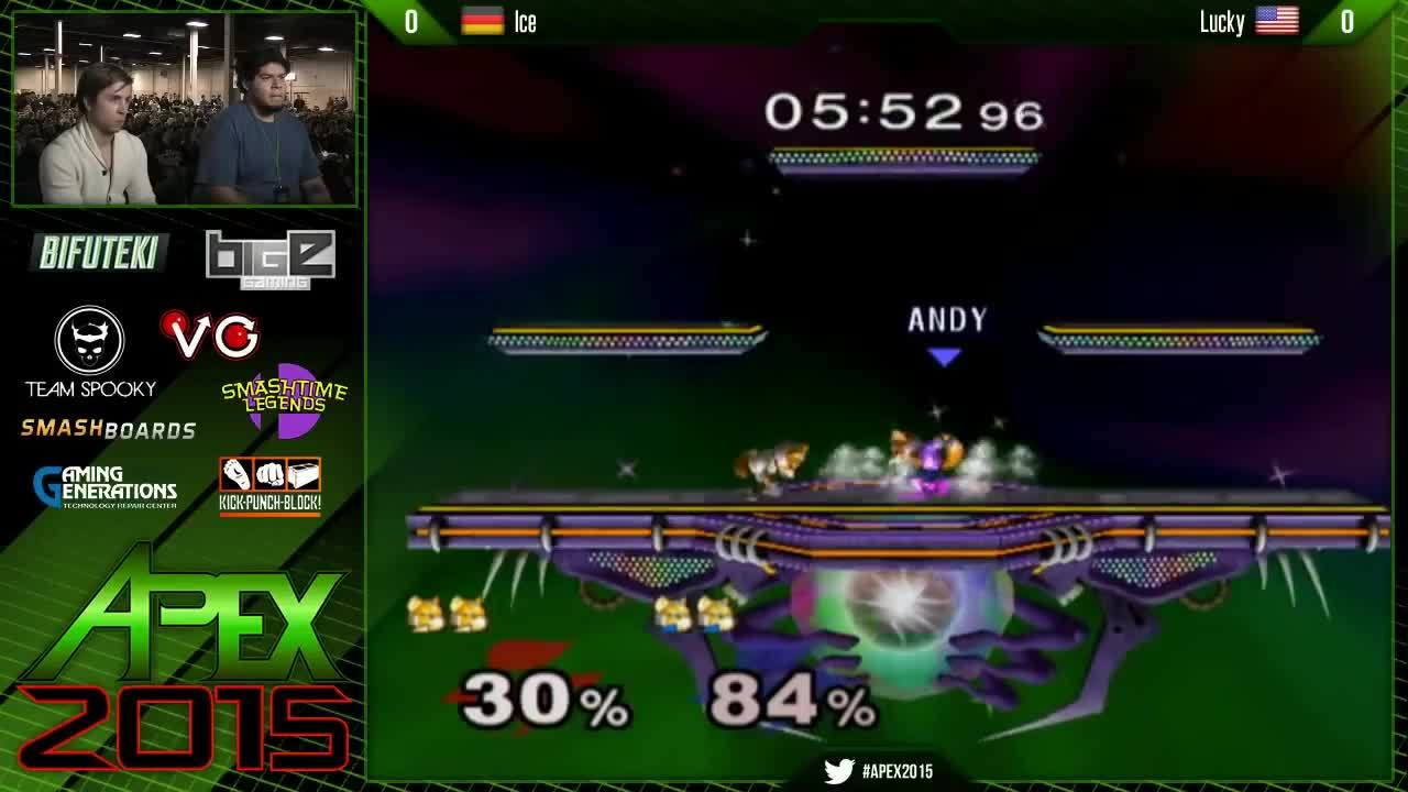 smashgifs, Ice doesn't let Lucky back on stage (includes a sweet moonwalk ledgehog) (reddit) GIFs