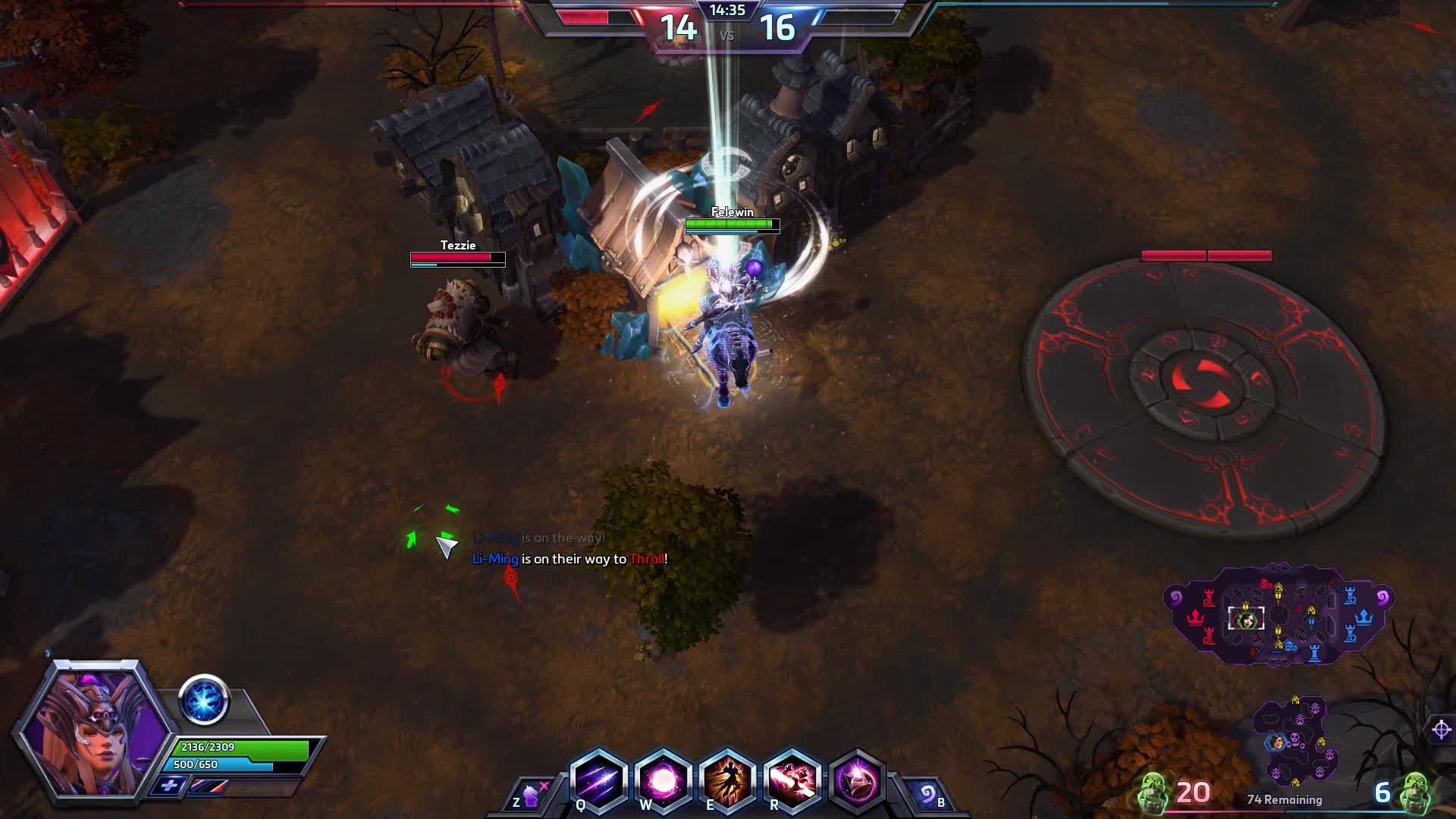 Thrall Deleted On The Run