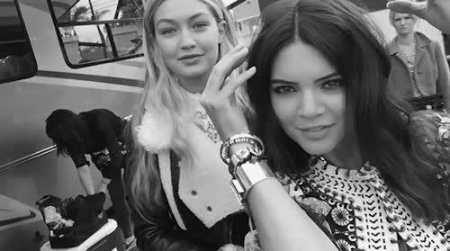 gigi hadid, hot, kardashians, kendalljenner, Kendall Jenner GIFs