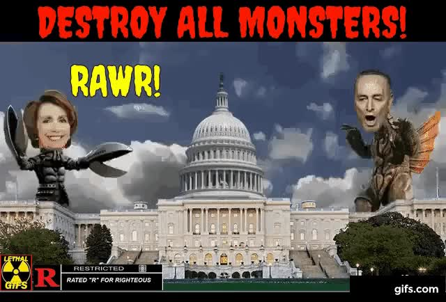 DESTROY ALL (WASHINGTON) MONSTERS!!