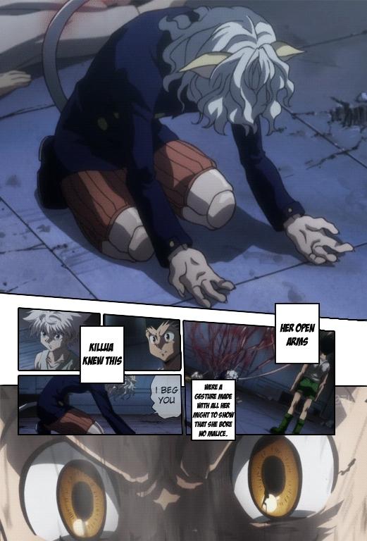 HunterXHunter, irishsaltytuna, Megathread for Anime-Manga Comparison Gifs (reddit) GIFs
