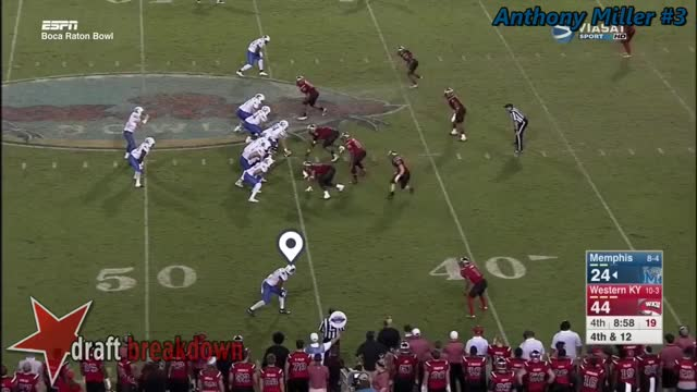 Watch and share Anthony Miller (Memphis WR) Vs Western Kentucky 2016 GIFs on Gfycat