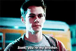 Watch and share Stiles Stilinski GIFs and Scott Mccall GIFs on Gfycat