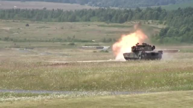 Watch M1 Abrams gunnery practice. (reddit) GIF by @forte3 on Gfycat. Discover more militarygfys GIFs on Gfycat