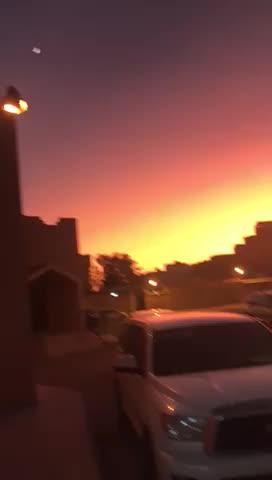 phenomenon, sun, sunset, Very bright after sunset, phenomenon GIFs