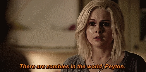 Aly Michalka, Liv Moore, Peyton Charles, Rose McIver, iZombie, spiderliliez GIFs