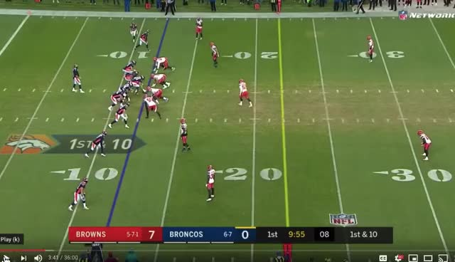 Watch and share Cleveland Browns GIFs and Denver Broncos GIFs by Andrew Callahan on Gfycat