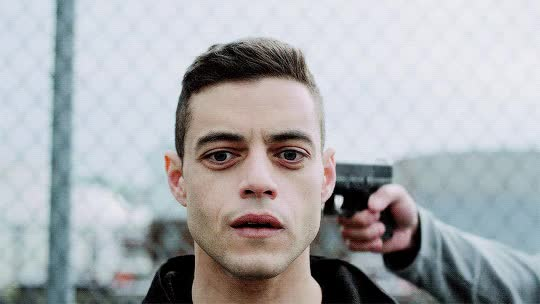 Watch and share Rami Malek GIFs and Mr Robot GIFs on Gfycat