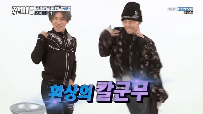 Sau thử thách nhảy thần tốc, BigBang cực sung với vũ đạo thần thánh của các girlband