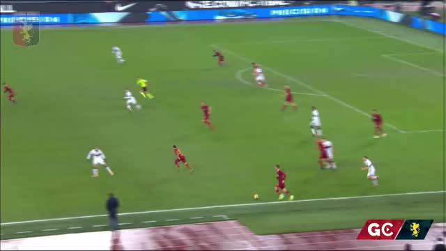 Watch HIGHLIGHTS | Roma-Genoa GIF on Gfycat. Discover more ballardini, genoa 1893, genoa calcio, genoa cfc, genoa cricket and football club, grifone, lega calcio, rossoblu, serie a, tim cup GIFs on Gfycat