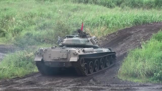 Watch and share Main Battle Tank GIFs and Type 74 Tank GIFs by bleech32 on Gfycat