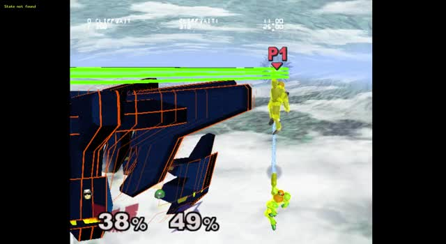 Watch and share Regular Getup Vs Samus Grapple Recovery #3 GIFs by benrachman on Gfycat