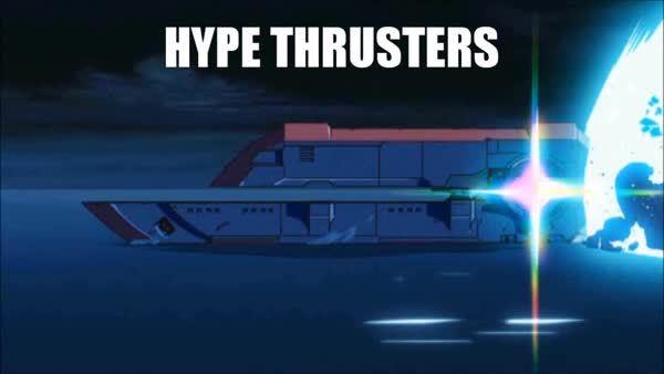 anime, halospv3, skyrimmods, HYPE THRUSTERS GIFs