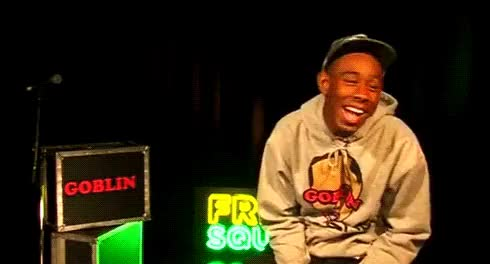 Watch and share Tyler The Creator GIFs and Laughing GIFs on Gfycat