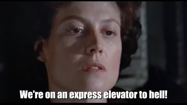 gifrequests, Hicks - express elevator to hell GIFs