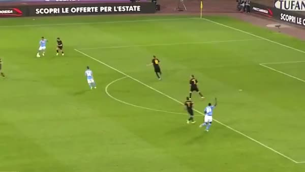 Watch and share Dries Mertens Second Goal Against Hellas Verona GIFs on Gfycat
