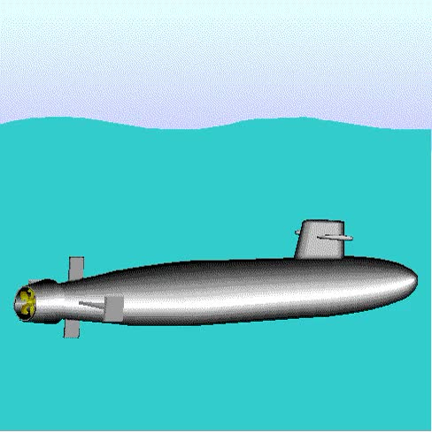 Watch and share Submarine Going Out And Into The Water GIFs on Gfycat