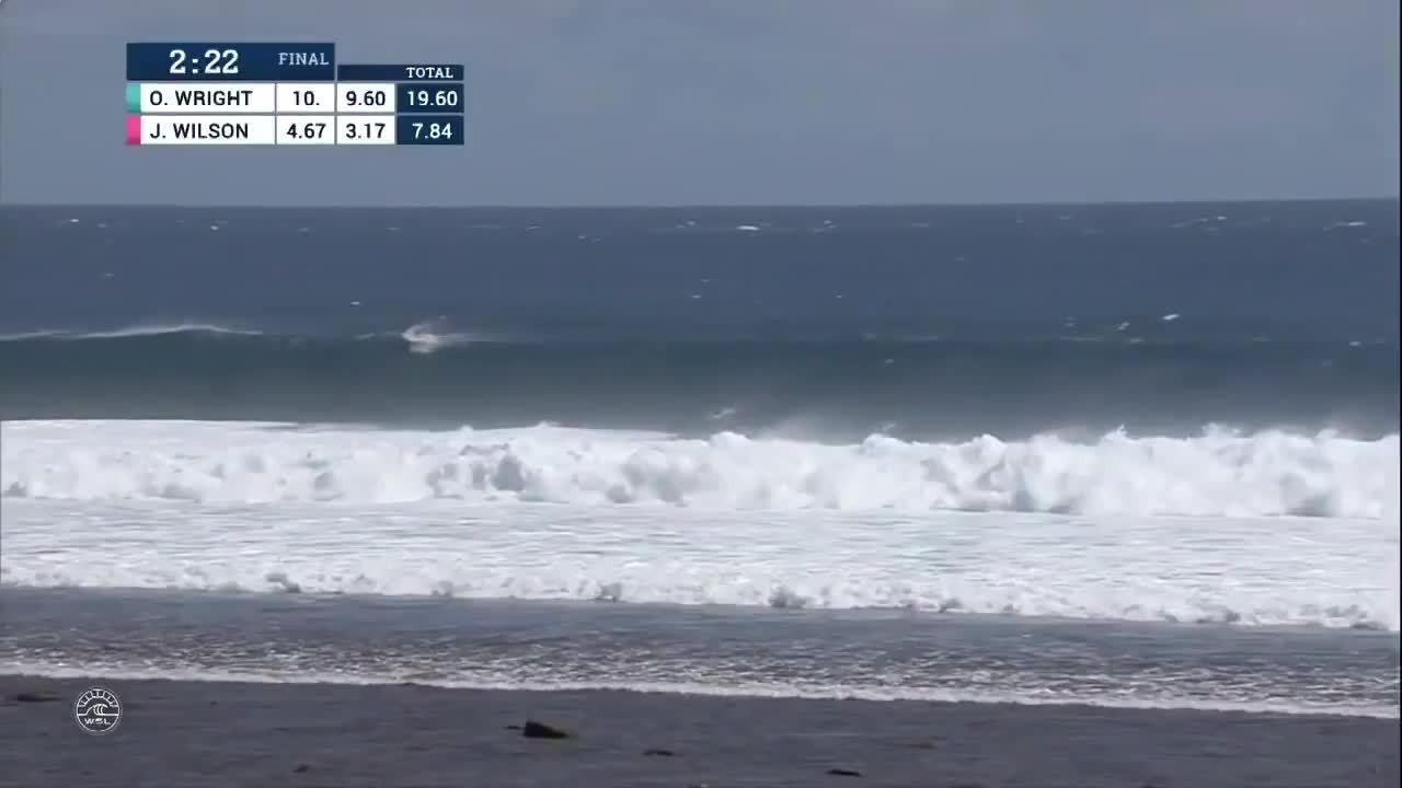 HighlightGIFS, highlightgifs, [surfing] Owen Wright scores his second perfect 10 in the Fiji Pro to get a perfect score of 20/20 (reddit) GIFs